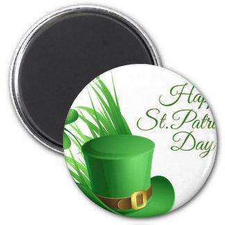 Imán El día de St Patrick feliz, santo irlandés del