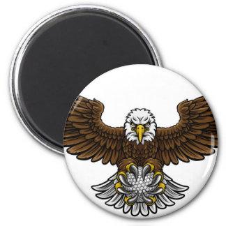 Imán El golf de Eagle se divierte la mascota