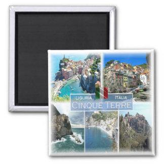Imán ÉL Italia # Liguria -   Cinque Terre -