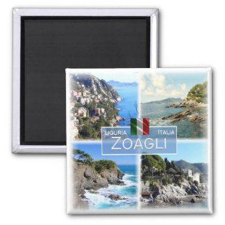 Imán ÉL Italia # Liguria - Zoagli -