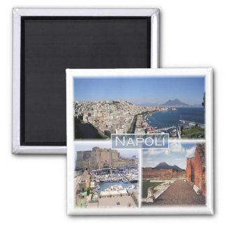 Imán ÉL * Italia - Napoli - Vesuvio