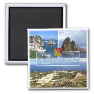 Imán ÉL Italia # Sicilia - golfo de Castellammare -