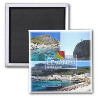 Imán ÉL Italia # Sicilia - isla de Levanzo -