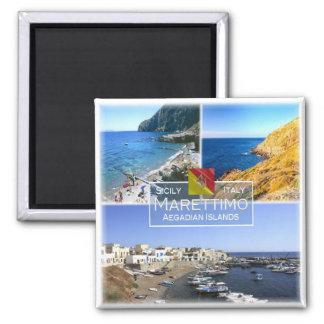 Imán ÉL Italia # Sicilia - isla de Marettimo -