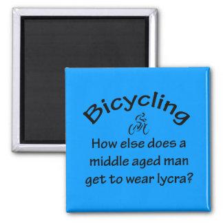 Imán El montar en bicicleta