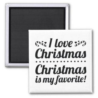 Imán El navidad es mi favorito