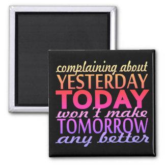 Imán El quejarse alrededor ayer