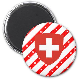 Imán El suizo raya la bandera