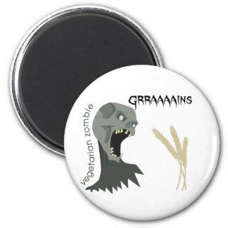 Imán ¡El zombi vegetariano quiere Graaaains!