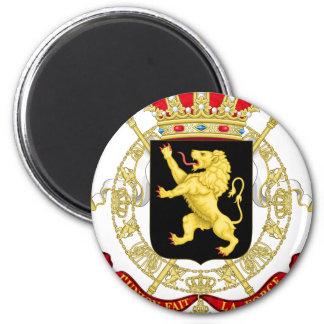 Imán Emblema belga - escudo de armas de Bélgica