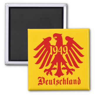 Imán Emblema de Eagle del alemán de Deutschland 1949