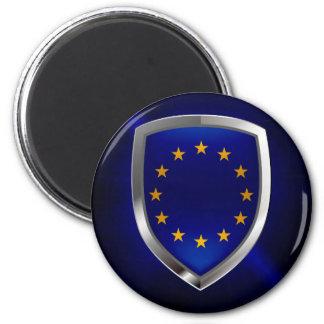 Imán Emblema de Mettalic de la unión europea