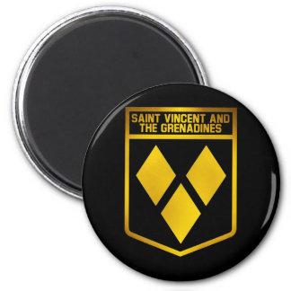 Imán Emblema de San Vicente y las Granadinas