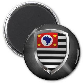 Imán Emblema de São Pablo Mettalic