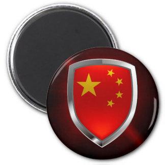 Imán Emblema metálico de China