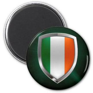 Imán Emblema metálico de Irlanda