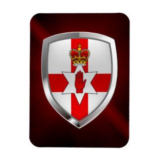 Iman Emblema metálico de Irlanda del Norte