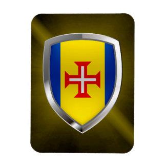 Iman Emblema metálico de Madeira