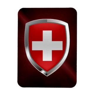 Iman Emblema metálico de Suiza