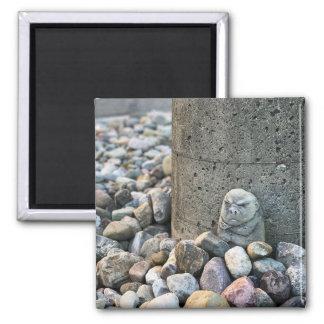 Imán encargado del jardín de piedras