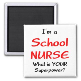 Imán Enfermera de la escuela