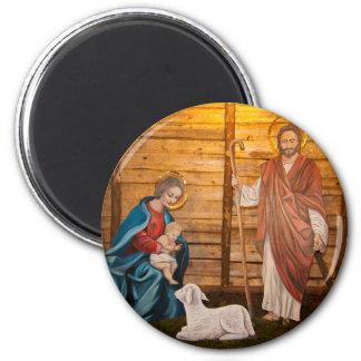 Imán Escena de la natividad