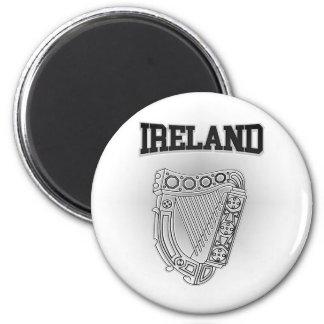 Imán Escudo de armas de Irlanda