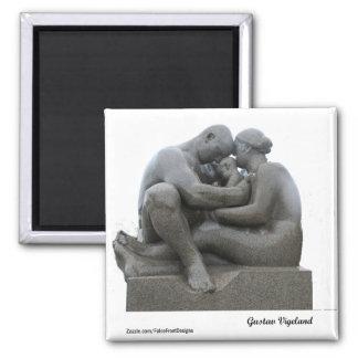 Imán Escultura de Gustav Vigeland - Oslo, Noruega -