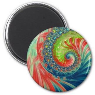 Imán Espiral brillante
