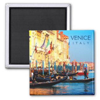 Imán Estación ocupada de la góndola en Venecia, Italia
