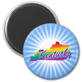 Imán Estado del arco iris de Kentucky