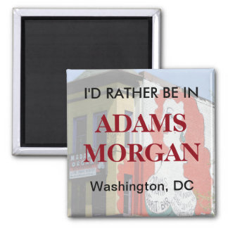 Imán Estaría bastante en Adams Morgan