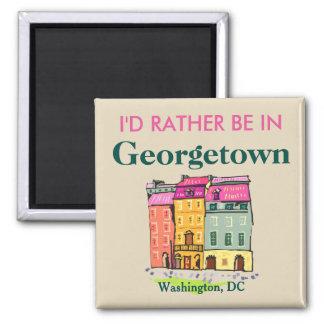 Imán Estaría bastante en Georgetown