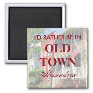 Imán Estaría bastante en la ciudad vieja Alexandría