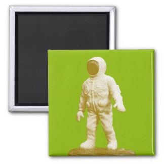 Imán Estatuilla retra del hombre del espacio