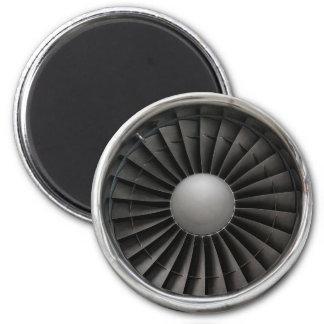 Imán Fan de la turbina del motor a reacción