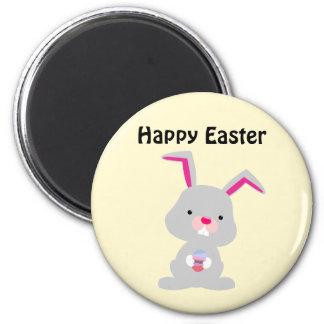 Imán feliz de la pared de Pascua