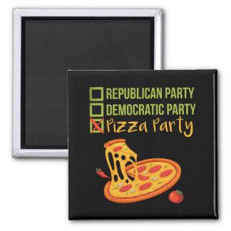 Imán Fiesta de la pizza - votación divertida de la
