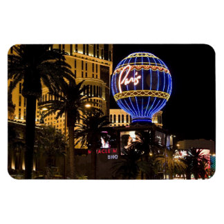 Imán flexible #1 de las noches de París Las Vegas