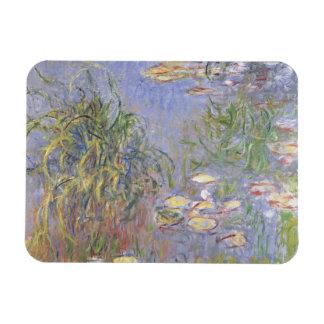 Imán Flexible Agua-Lirios, racimo de hierba