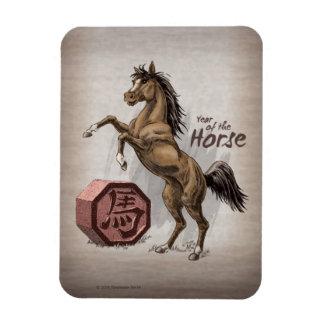 Imán Flexible Año del arte chino del animal del zodiaco del