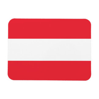 Imán Flexible Bandera austríaca patriótica