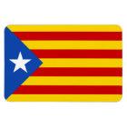 "Imán Flexible Bandera catalana de la independencia de ""L'Estelad"