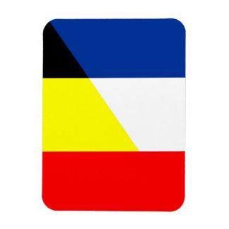 Imán Flexible bandera del símbolo del país de la bandera de