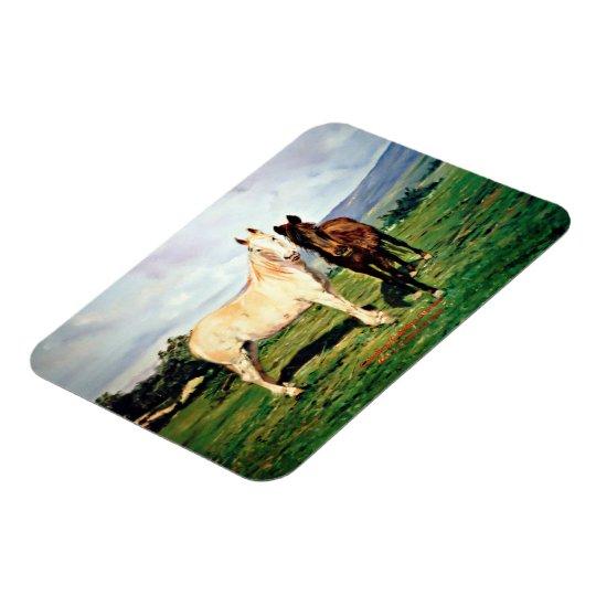 Imán Flexible Caballos/Cabalos/Horses