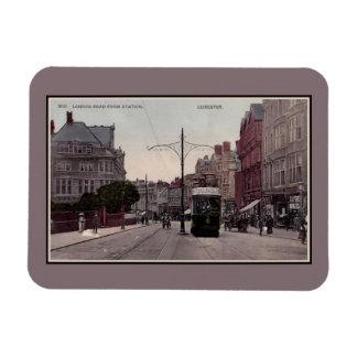 Imán Flexible Camino de Leicester Londres de la estación,