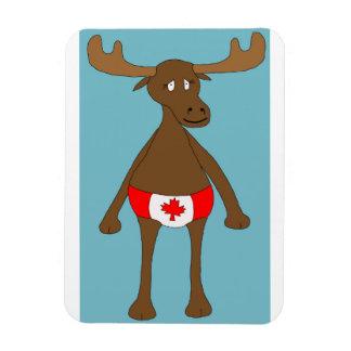 Imán Flexible ¿Canadiense, Eh? Alces