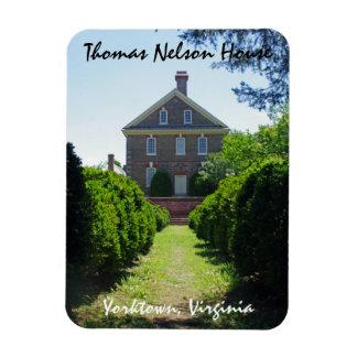 Imán Flexible Casa Yorktown de Nelson