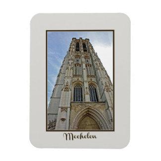 Imán Flexible Catedral Bélgica de Mechelen