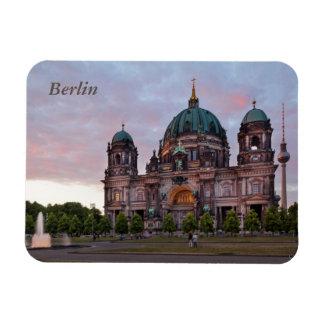 Imán Flexible Catedral de Berlín con la torre y Lustgar de la